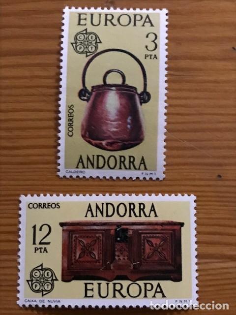 ANDORRA, 1976, EDIFIL 102 Y 103, NUEVOS ** (Sellos - España - Dependencias Postales - Andorra Española)