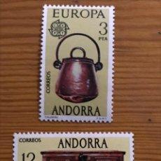 Sellos: ANDORRA, 1976, EDIFIL 102 Y 103, NUEVOS **. Lote 248992730