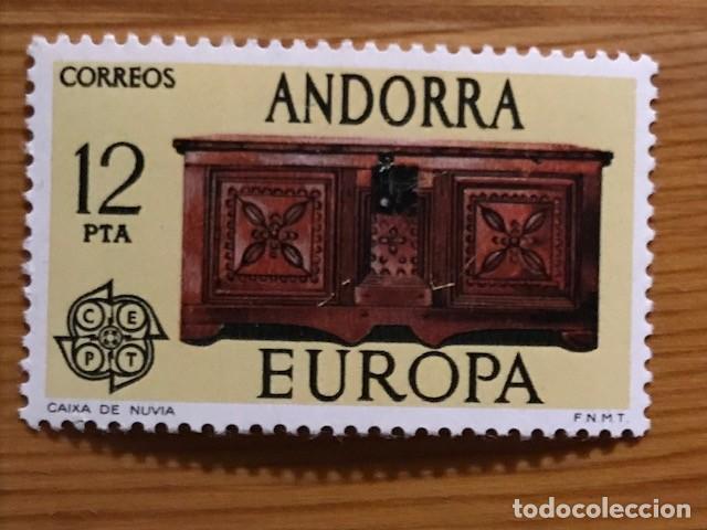 Sellos: Andorra, 1976, Edifil 102 y 103, Nuevos ** - Foto 2 - 248992730