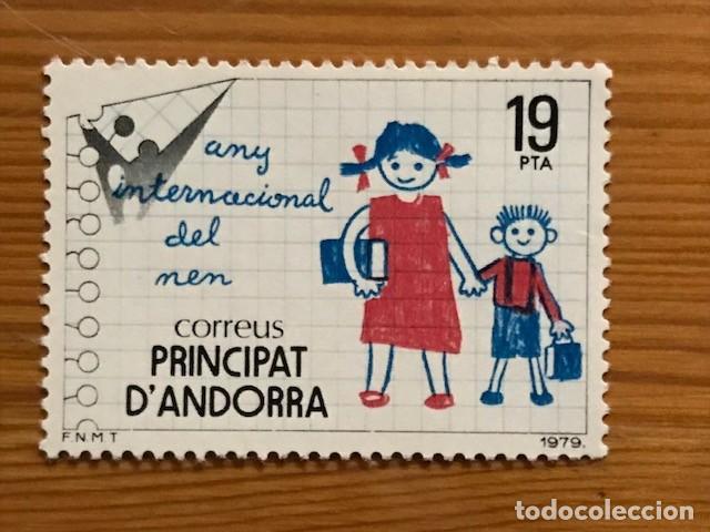 ANDORRA, 1979, AÑO DEL NIÑO, EDIFIL 127, NUEVOS ** (Sellos - España - Dependencias Postales - Andorra Española)