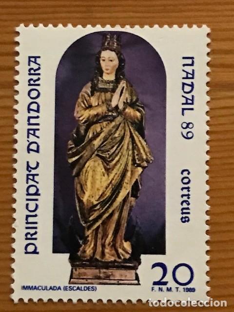Sellos: Andorra, 1985 al 1995, 23 sellos nuevos ** - Foto 13 - 249062410
