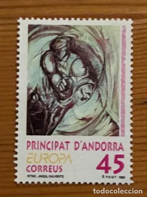Sellos: Andorra, 1985 al 1995, 23 sellos nuevos ** - Foto 20 - 249062410
