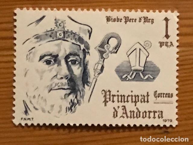 Sellos: Andorra, 1979, Coprincipes Episcopales, Edifil 130 al 132, Nuevos ** - Foto 2 - 249492525