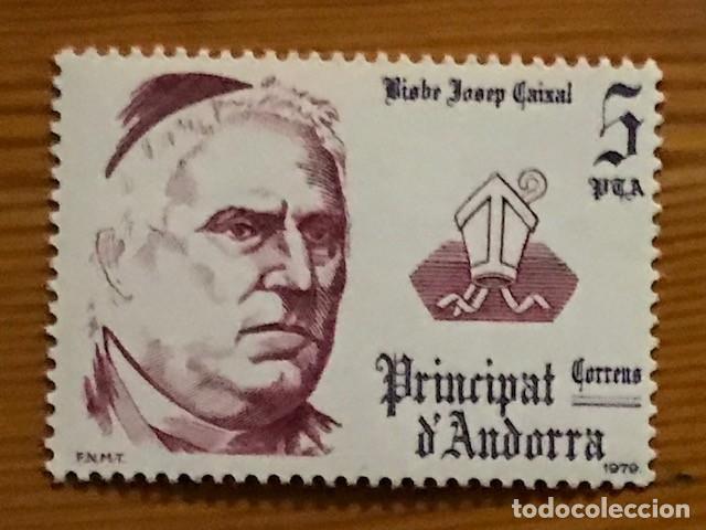 Sellos: Andorra, 1979, Coprincipes Episcopales, Edifil 130 al 132, Nuevos ** - Foto 3 - 249492525