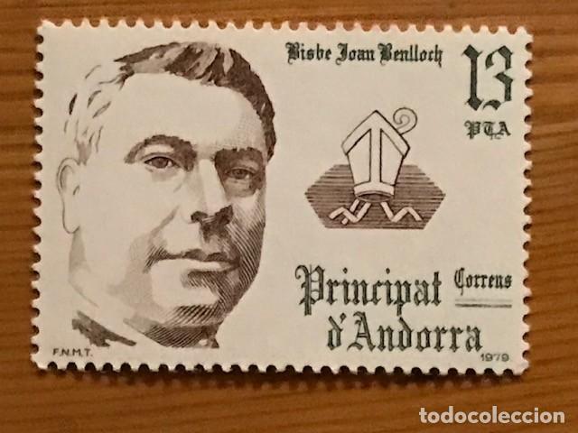 Sellos: Andorra, 1979, Coprincipes Episcopales, Edifil 130 al 132, Nuevos ** - Foto 4 - 249492525