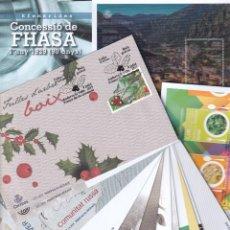 Sellos: SELLOS ESPAÑA SPD ANDORRA 2019 COMPLETO EN NUEVO SIN FIJASELLOS MNH. Lote 253614575