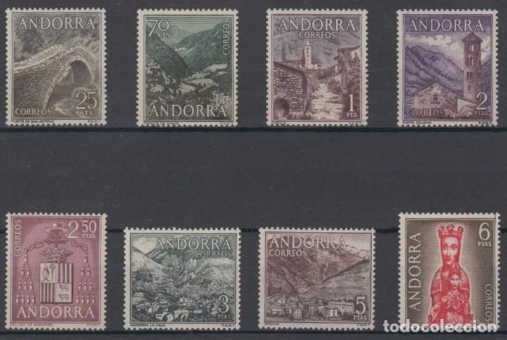SELLOS ESPAÑA: ANDORRA AÑO 1963/64 COMPLETO Y NUEVO MNH (Sellos - España - Dependencias Postales - Andorra Española)