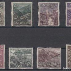 Sellos: SELLOS ESPAÑA: ANDORRA AÑO 1963/64 COMPLETO Y NUEVO MNH. Lote 254781510