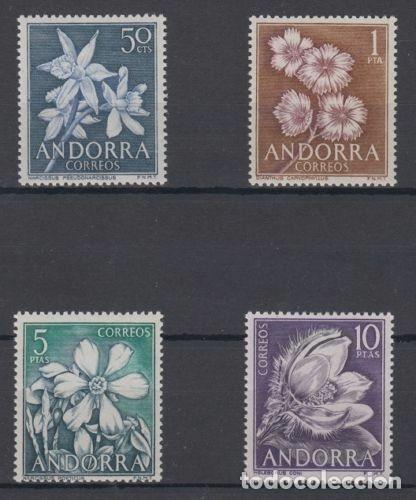 SELLOS ESPAÑA: ANDORRA AÑO 1966 COMPLETO Y NUEVO MNH (Sellos - España - Dependencias Postales - Andorra Española)