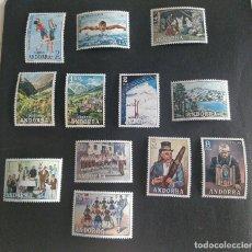 Sellos: SELLOS ESPAÑA: ANDORRA AÑO 1972 COMPLETO Y NUEVO MNH SIN EDIFIL Nº72. Lote 254781675