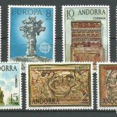 Sellos: SELLOS ESPAÑA: ANDORRA AÑO 1974 COMPLETO Y NUEVO MNH. Lote 254781850
