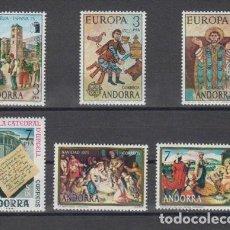 Sellos: SELLOS ESPAÑA: ANDORRA AÑO 1975 COMPLETO Y NUEVO MNH. Lote 254781900