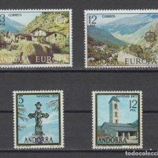 Sellos: SELLOS ESPAÑA: ANDORRA AÑO 1977 COMPLETO Y NUEVO MNH. Lote 254782015