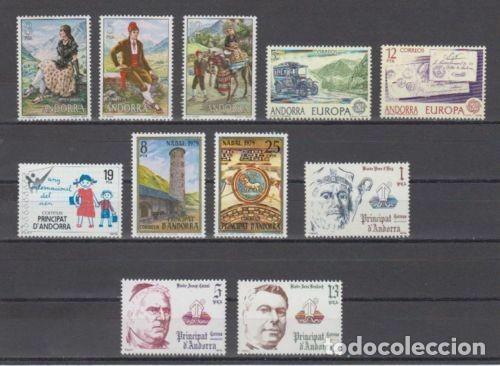 SELLOS ESPAÑA: ANDORRA AÑO 1979 COMPLETO Y NUEVO MNH (Sellos - España - Dependencias Postales - Andorra Española)