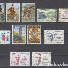 Sellos: SELLOS ESPAÑA: ANDORRA AÑO 1979 COMPLETO Y NUEVO MNH. Lote 254783865