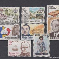 Sellos: SELLOS ESPAÑA: ANDORRA AÑO 1983 COMPLETO Y NUEVO MNH. Lote 254784105