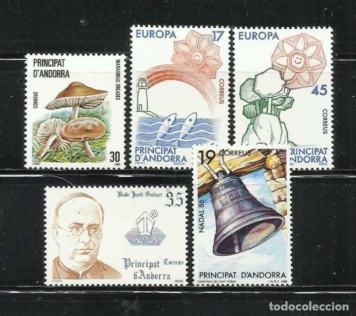 SELLOS ESPAÑA: ANDORRA AÑO 1986 COMPLETO Y NUEVO MNH (Sellos - España - Dependencias Postales - Andorra Española)