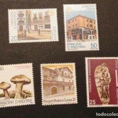 Sellos: SELLOS ESPAÑA: ANDORRA AÑO 1990 COMPLETO Y NUEVO MNH. Lote 254784665
