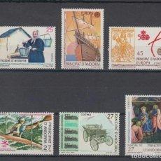 Sellos: SELLOS ESPAÑA: ANDORRA AÑO 1992 COMPLETO Y NUEVO MNH. Lote 254784765