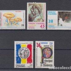 Sellos: SELLOS ESPAÑA: ANDORRA AÑO 1993 COMPLETO Y NUEVO MNH. Lote 254784800