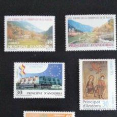 Sellos: SELLOS ESPAÑA: ANDORRA AÑO 1995 COMPLETO Y NUEVO MNH. Lote 254784920