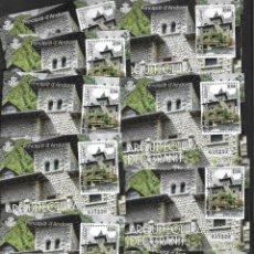 Sellos: ANDORRA ESPAÑOLA 11 HOJAS BLOQUE DE 3,15€ CADA UNA NUEVAS. Lote 254973615