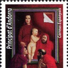 Sellos: ANDORRA 2013 EDIFIL 410 SELLO ** NAVIDAD CHRISTMAS NADAL ADORACION DEL NIÑO JESUS MICHEL 406 YV. 396. Lote 256044395