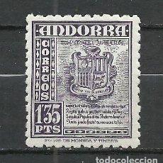 Selos: ANDORRA (CORREO ESPAÑOL) - 1948 - EDIFIL 55** MNH. Lote 256146400