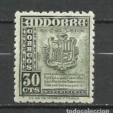 Sellos: ANDORRA (CORREO ESPAÑOL) - 1948 - EDIFIL 50* MH. Lote 256146515