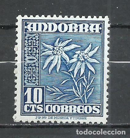 ANDORRA (CORREO ESPAÑOL) - 1948 - EDIFIL 47* MH (Sellos - España - Dependencias Postales - Andorra Española)