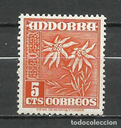 ANDORRA (CORREO ESPAÑOL) - 1948 - EDIFIL 46* MH (Sellos - España - Dependencias Postales - Andorra Española)