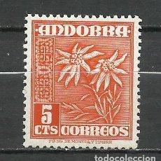 Sellos: ANDORRA (CORREO ESPAÑOL) - 1948 - EDIFIL 46* MH. Lote 256146795