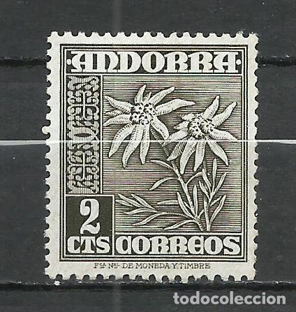 ANDORRA (CORREO ESPAÑOL) - 1948 - EDIFIL 45* MH (Sellos - España - Dependencias Postales - Andorra Española)