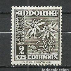 Sellos: ANDORRA (CORREO ESPAÑOL) - 1948 - EDIFIL 45* MH. Lote 256146815