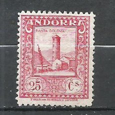 Sellos: ANDORRA (CORREO ESPAÑOL) - 1929 - EDIFIL 20* MH. Lote 256147135