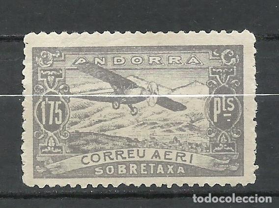 ANDORRA (CORREO ESPAÑOL) - 1932 - EDIFIL NE19* MH (Sellos - España - Dependencias Postales - Andorra Española)