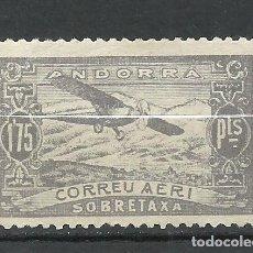 Sellos: ANDORRA (CORREO ESPAÑOL) - 1932 - EDIFIL NE19* MH. Lote 256147685