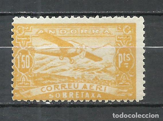ANDORRA (CORREO ESPAÑOL) - 1932 - EDIFIL NE18* MH (Sellos - España - Dependencias Postales - Andorra Española)