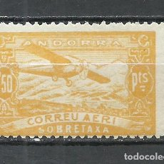 Sellos: ANDORRA (CORREO ESPAÑOL) - 1932 - EDIFIL NE18* MH. Lote 256147730