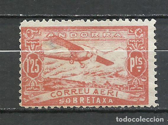 ANDORRA (CORREO ESPAÑOL) - 1932 - EDIFIL NE17* MH (Sellos - España - Dependencias Postales - Andorra Española)
