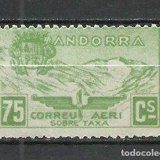 Sellos: ANDORRA (CORREO ESPAÑOL) - 1932 - EDIFIL NE15* MH. Lote 256147830