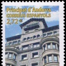 Sellos: ANDORRA 2014 EDIFIL 426 SELLO ** ARQUITECTURA DE GRANITO CASA FELIPO MICHEL 422 YVERT 412 PRINCIPAT. Lote 257295565