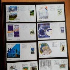 Timbres: ANDORRA AÑO COMPLETO 2009 SOBRES DE PRIMER DÍA FDC DOS IMAGENES BAJO FACIAL. Lote 257875350
