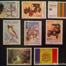 Sellos: ANDORRA ESPAÑOLA. AÑO 2003 COMPLETO NUEVO. Lote 260437105