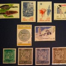 Sellos: ANDORRA ESPAÑOLA. AÑO 1988 COMPLETO NUEVO. Lote 260437325