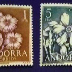 Sellos: ANDORRA ESPAÑOLA. AÑO 1966 COMPLETO NUEVO. Lote 260437530