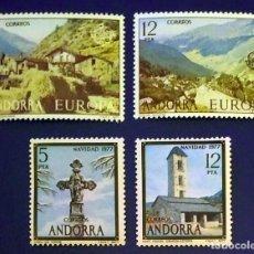 Sellos: ANDORRA ESPAÑOLA. AÑO 1977 COMPLETO NUEVO. Lote 260437670