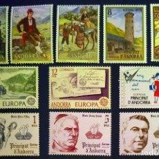 Sellos: ANDORRA ESPAÑOLA. AÑO 1979 COMPLETO NUEVO. Lote 260437840