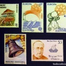 Sellos: ANDORRA ESPAÑOLA. AÑO 1986 COMPLETO NUEVO. Lote 260438005