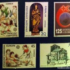 Sellos: ANDORRA ESPAÑOLA. AÑO 1989 COMPLETO NUEVO. Lote 260438375